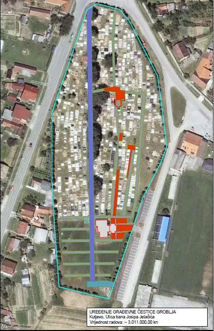 Gradu Kutjevu 3,1 milijun kn za uređenje groblja