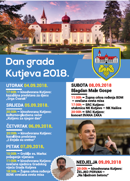 Dan Grada Kutjeva 2018.