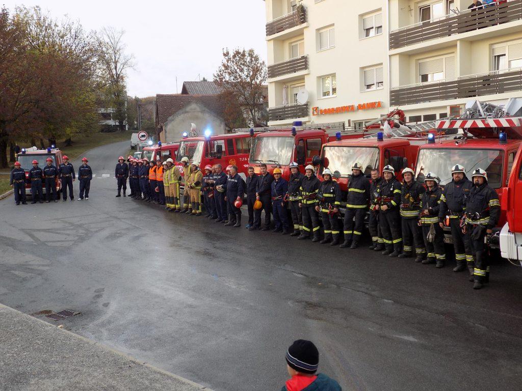 Združena vatrogasna vježba Vatrogasnog centra Kutjevo