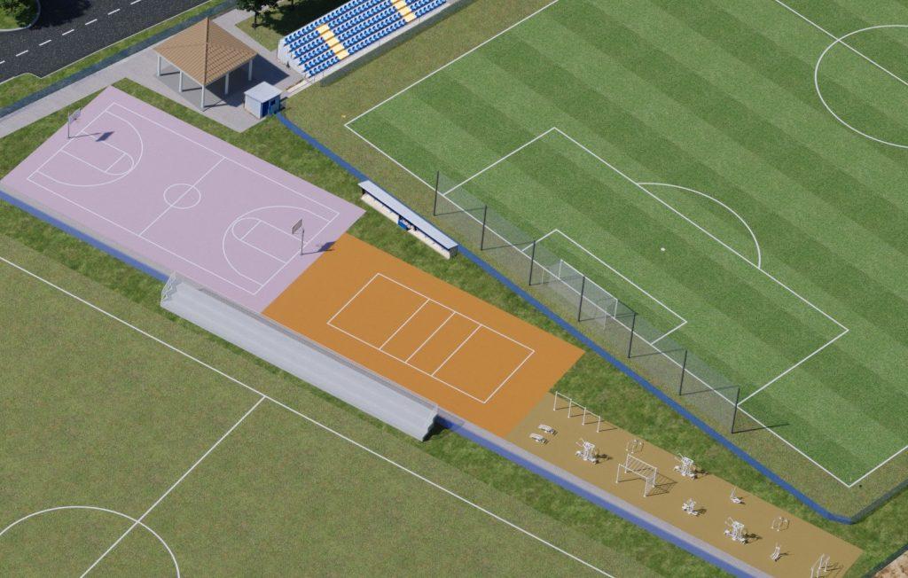 Novi projekt – izgradnja sportskih terena za košarku i odbojku