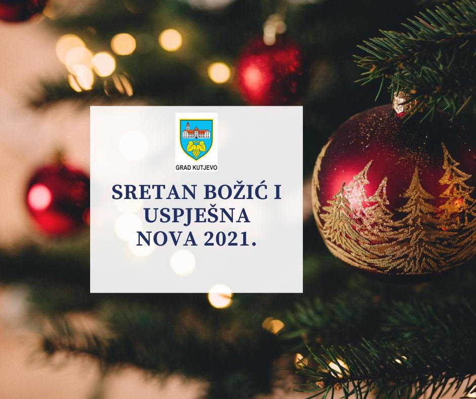 Gradonačelnikova čestitka za Božić i novu godinu