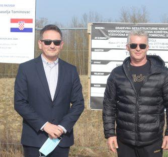 U tijeku je izgradnja vodovodne mreže u Tominovcu