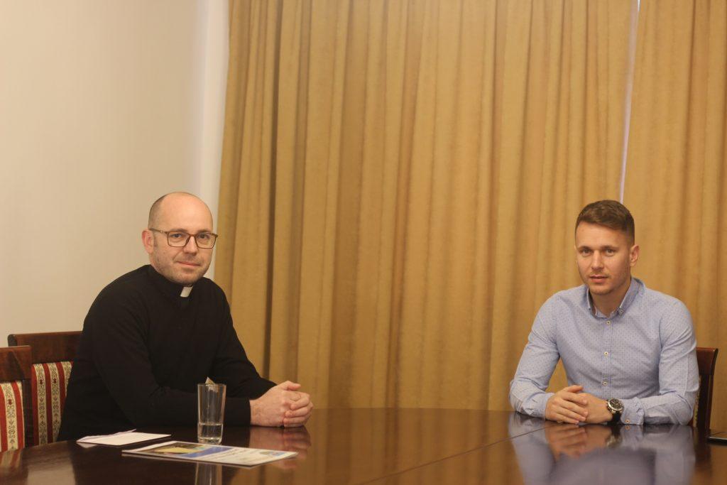 Danas smo u Gradskoj upravi ugostili novog vetovačkog župnika Želimira Žuljevića