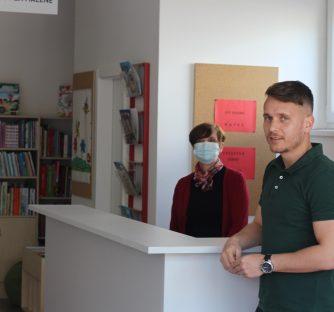 Gradonačelnik Josip Budimir posjetio knjižnicu u novom prostoru