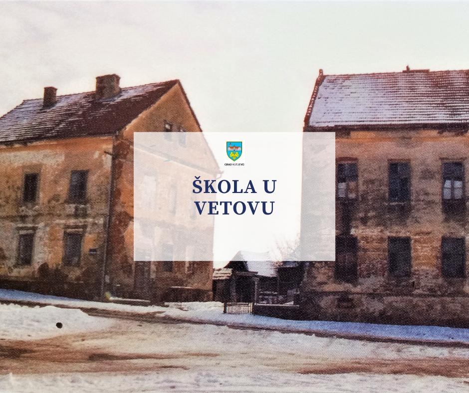Škola u Vetovu kroz povijest