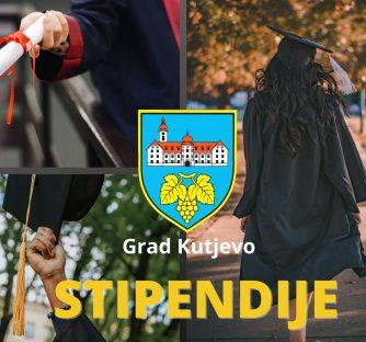Javni poziv za dodjelu stipendija studentima s područja Grada Kutjeva