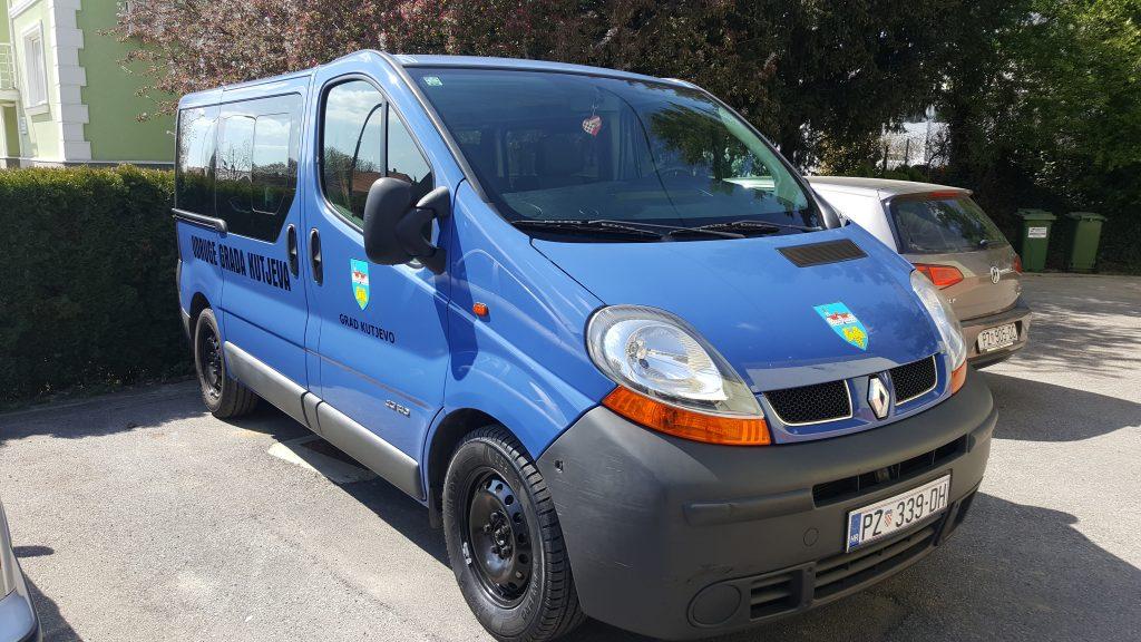 Kombi vozilo za udruge s područja grada Kutjeva