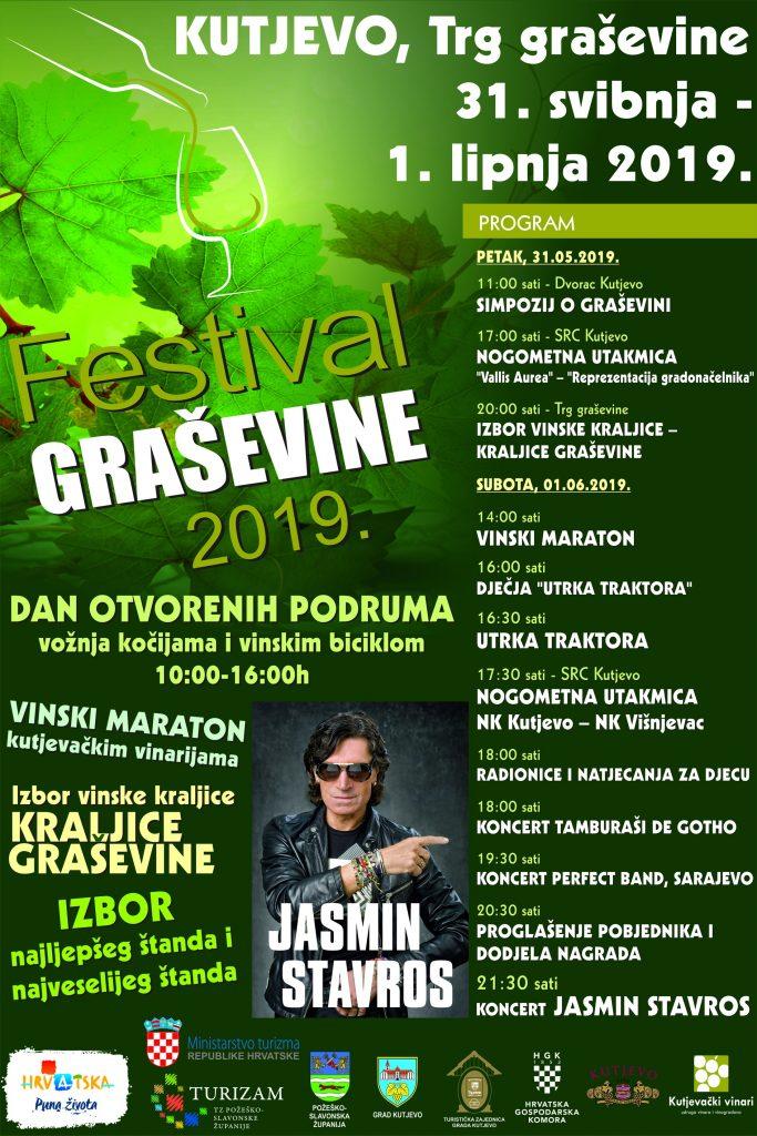 Festival graševine 2019. – besplatan prijevoz iz Požege, Pleternice i Našica