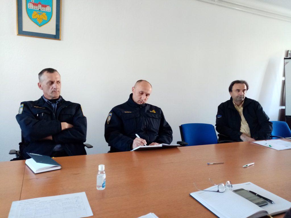 Sastanak stožera civilne zaštite Grada Kutjeva