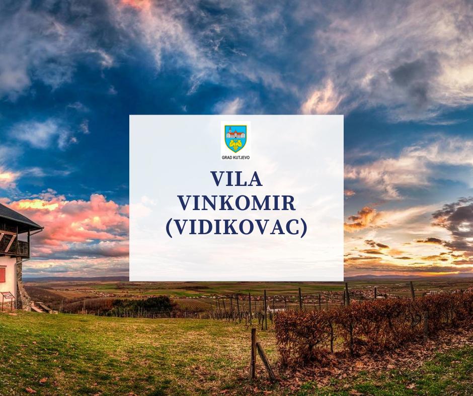 Vila Vinkomir (vidikovac)