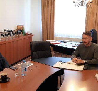 Gradonačelnik Josip Budimir ugostio poznatog arhitekta Andriju Rusana