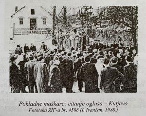 Stari pokladni običaji Kutjevo