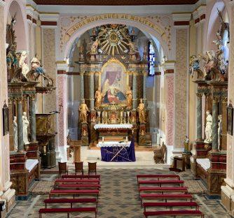 Novo ruho crkve Rođenja Blažene Djevice Marije u Kutjevu