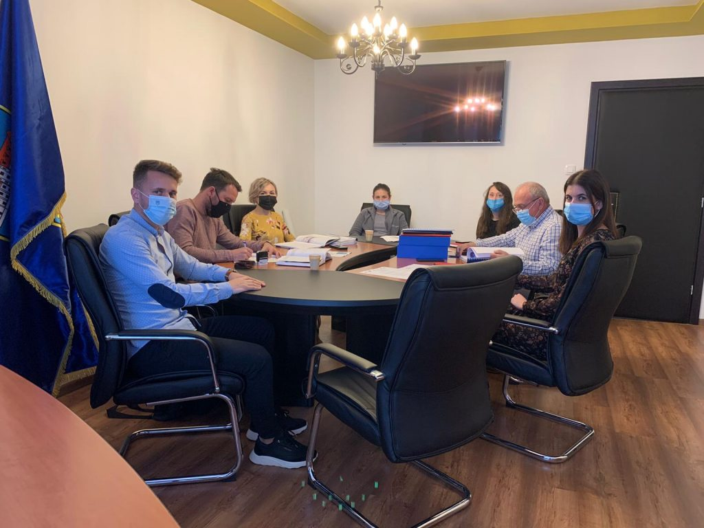 Uvođenje izvođača radova u posao – Reciklažno dvorište Kutjevo