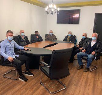 Gradonačelnik Josip Budimir ugostio predstavnike Matice umirovljenika Grada Kutjeva