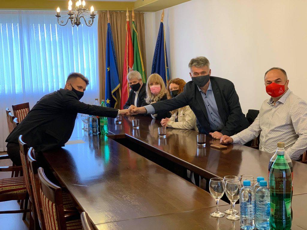 Gradonačelnik Josip Budimir ugostio župana općine Žalec i suradnike
