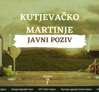 JAVNI POZIV – Kutjevačko Martinje 2021.
